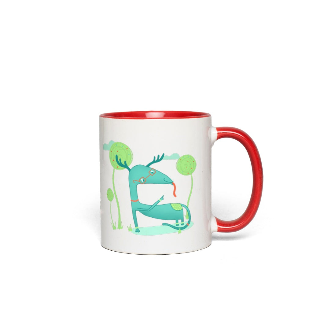Accent Mug | Louie | Multiple Colors