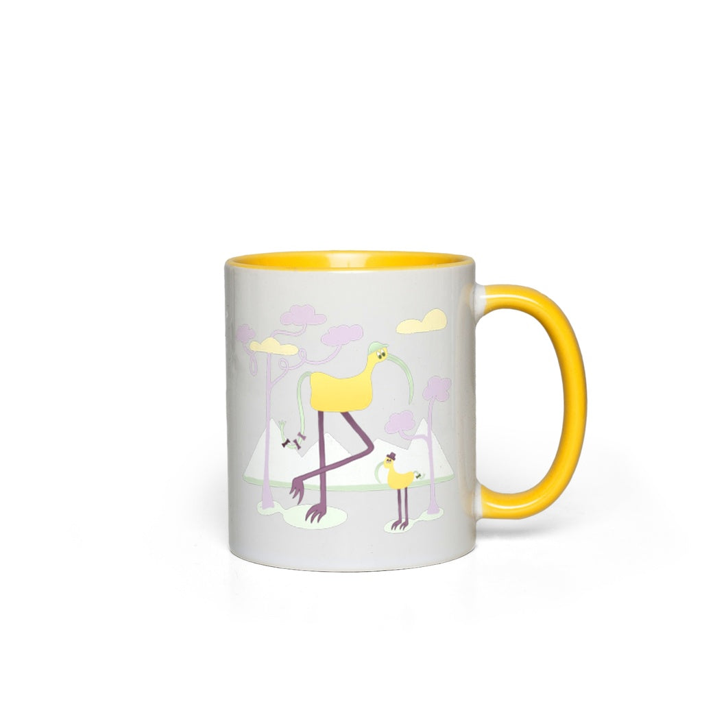 Accent Mug | Beep & Boop | Multiple Colors