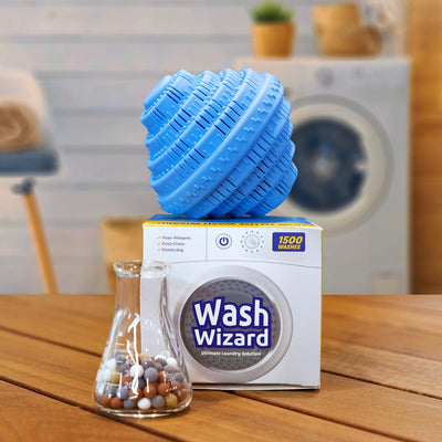 Wash Wizard Laundry Detergent Alternative