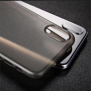 Smooth Matte-Finished iPhone X Case