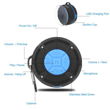 Load image into Gallery viewer, Waterproof Wireless Bluetooth Loudspeaker