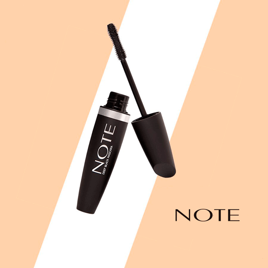 Deep Black Mascara - Note Cosmetics Colombia