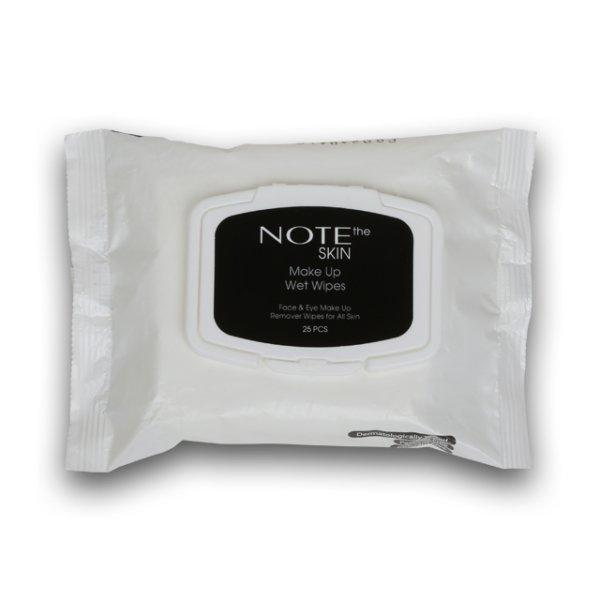 Make Up Wet Wipes - Note Cosmetics Colombia