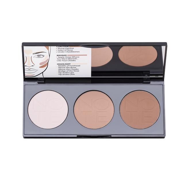 Perfecting Contouring Powder Palette - Note Cosmetics Colombia