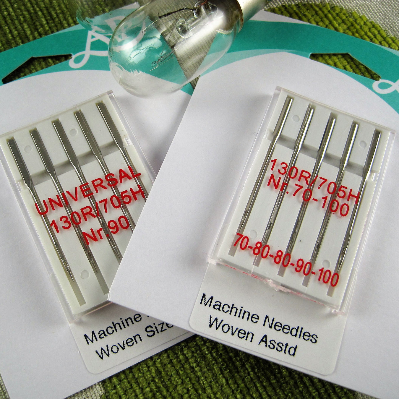 Sewing Machine Needles & Bulbs