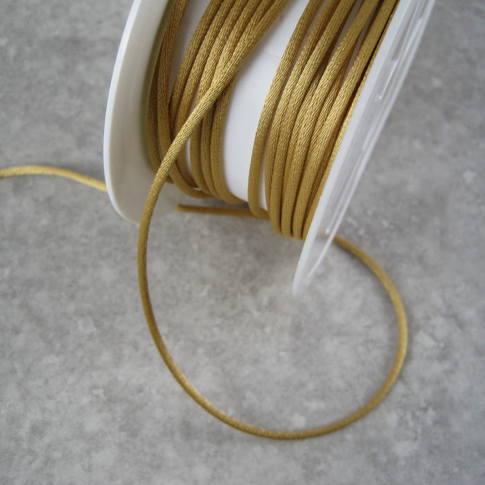 Rats Tail 2mm Tubular Ribbon