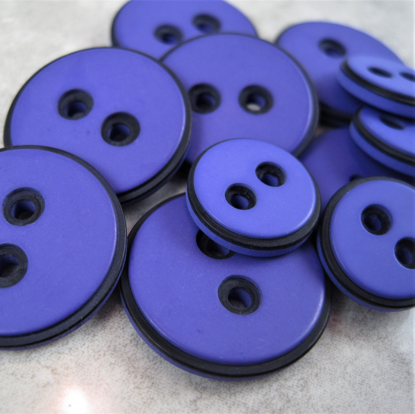 Purple & Wine Buttons