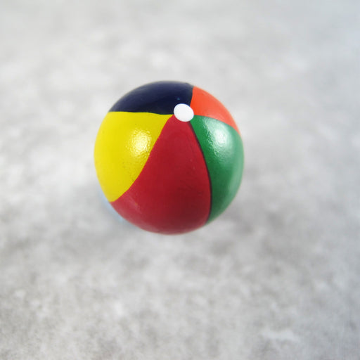 Beach ball button