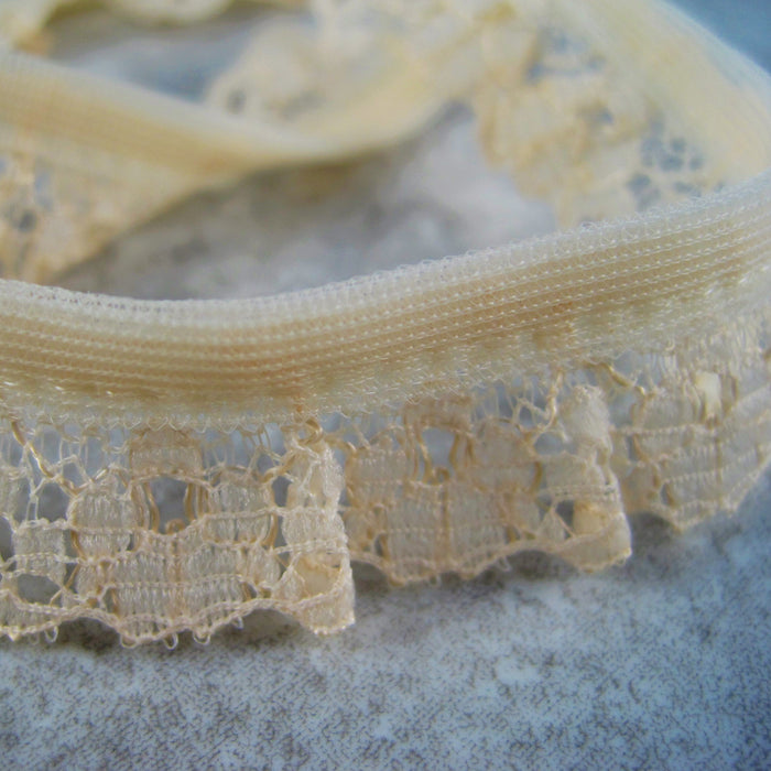 Gathered Lace 15mm