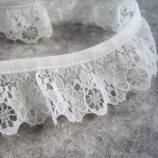 Gathered lace 25mm