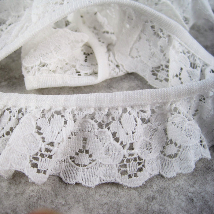 Gathered Lace 30mm