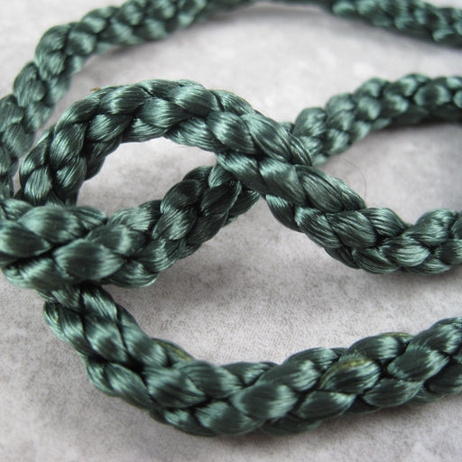 Furnishing cord Dark Green. Clearance.