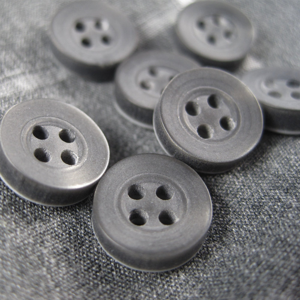 Shirt buttons Grey