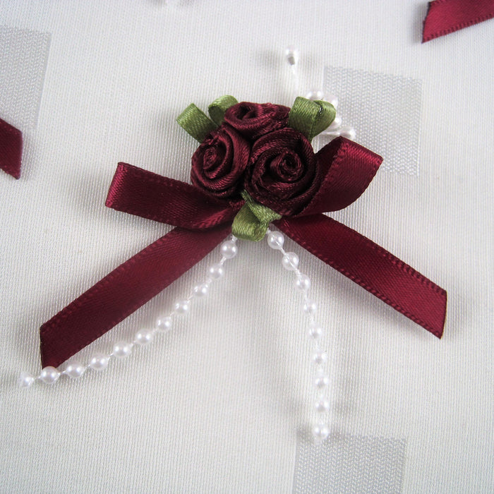 Multi Ribbon Roses