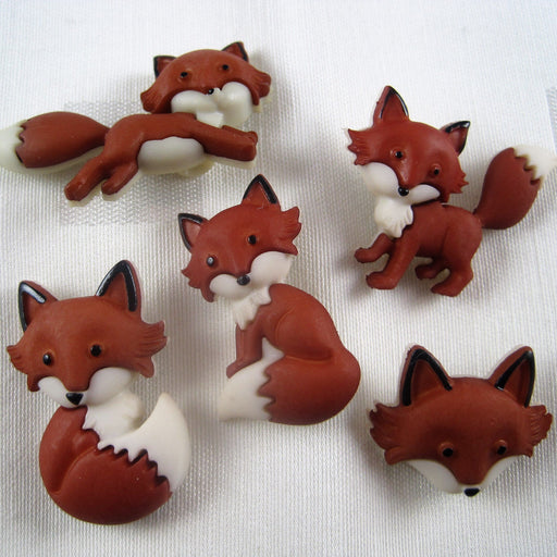 Out Foxed Buttons