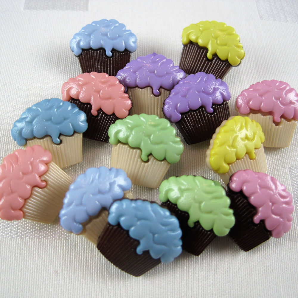 Cupcakes Button Pack