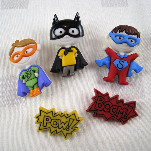 Be My Super Hero Buttons