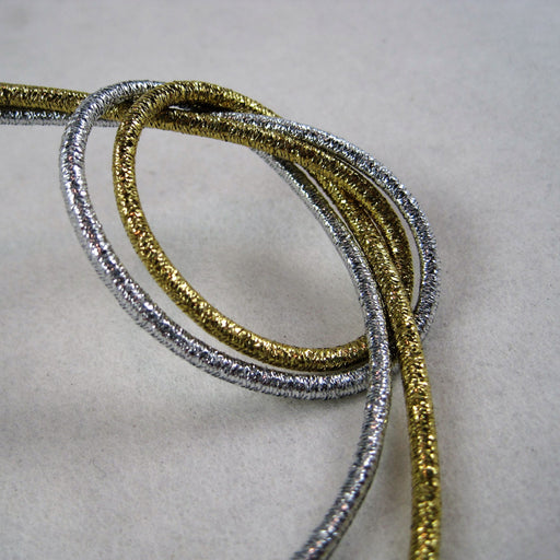 3mm Metallic Round Elastic