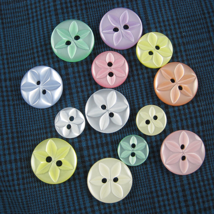 Baby Star Buttons