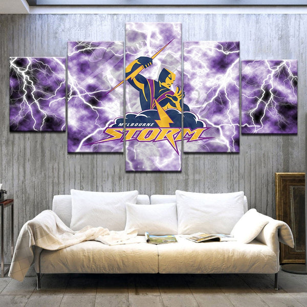 Modular Pictures HD Print Canvas Paintings Wall For Living Room 5 Panel Melbourne Storme Landscape Picture