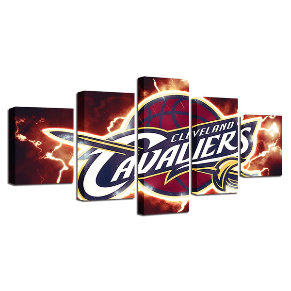 Canvas Painting Prints Home Decor 5 Pieces Basketball Sport Wall Art Modular Hang Pictures Poster Hot Sale Drop Shipping Artwork