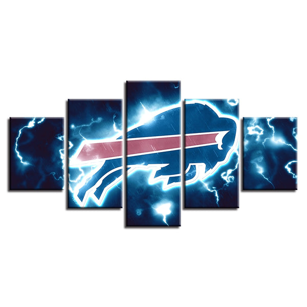 Prints Home Decor Wall Art Brand New Modern Sport Canvas Painting Baby Room 5 Pcs American Football Modular Pictures Poster