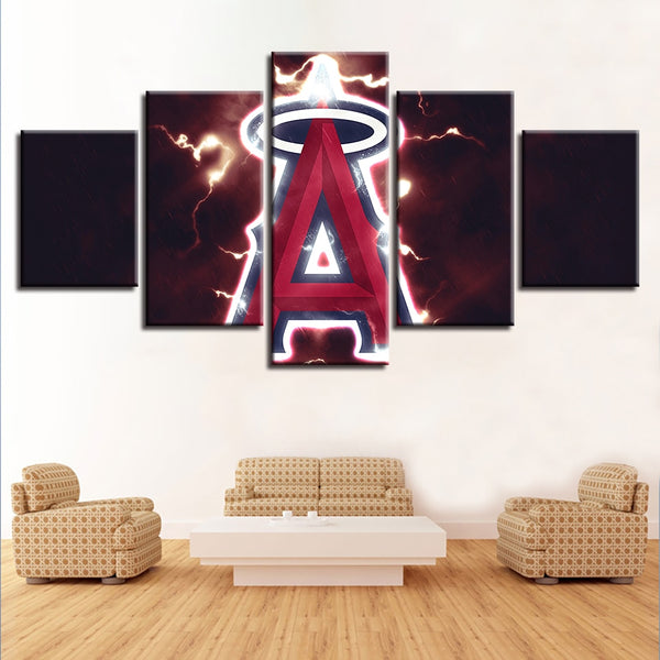 House Painting Home Decor Cuadros 5 Set Baseball Sport HD Modern Prints Canvas Modular Hang Pictures Wall Art Poster Hallway