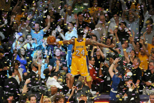 Q2342 Posters and Prints Hot Kobe Bryant Retirement Show Championship MVP Art Poster Canvas Painting Home Decor