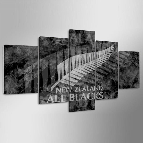 Canvas Wall Art Modular Picture Landscape Canvas 5 Panel Rugby Sport Painting Modern Living Room Decorative Framework YGYT