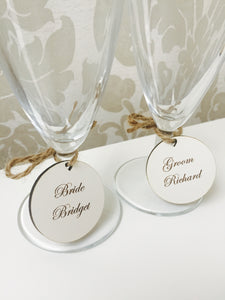 Personalised wine tags