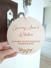 Load image into Gallery viewer, Granny's Kitchen Personalised Plaque