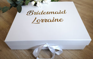 Personalised Gift Box Decals