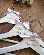 Load image into Gallery viewer, Personalised Wedding Hangers