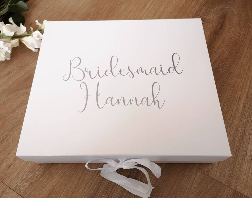 Personalised Bridal Party Gift Boxes