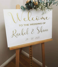 Load image into Gallery viewer, acrylic wedding sign