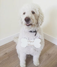 Load image into Gallery viewer, Personalised Wedding Dog Sign