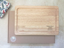 Load image into Gallery viewer, Laurel Leaf Seasoned with Love Chopping Board
