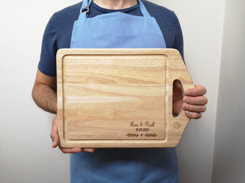 Engraved Personalised Special Occasion Chopping Board
