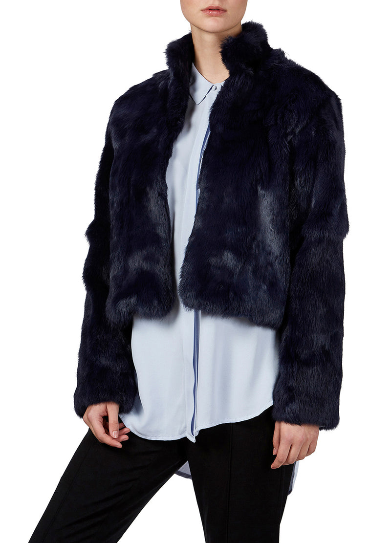 Arlie Fur Jacket - Iris