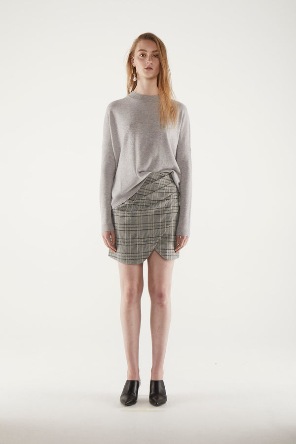 Brenna Sweater - Grey Marl