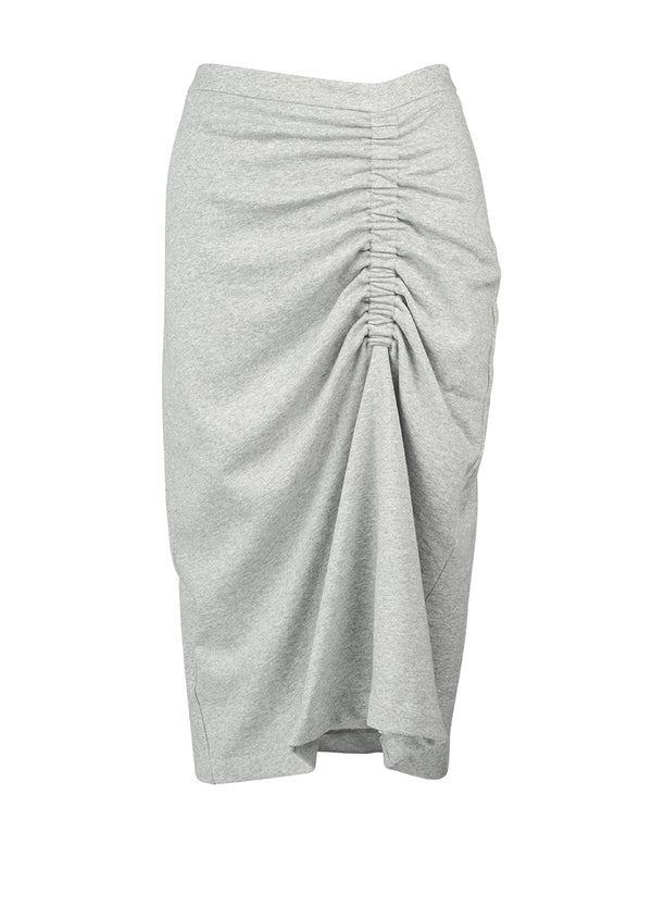 Enid Skirt - Grey Marl