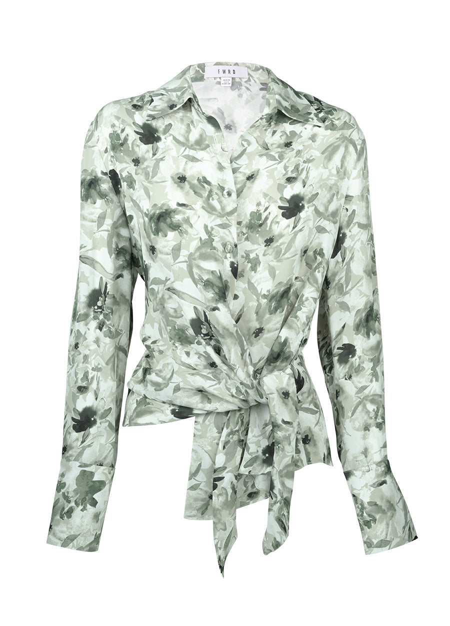 Rocco Shirt - Evergreen Floral