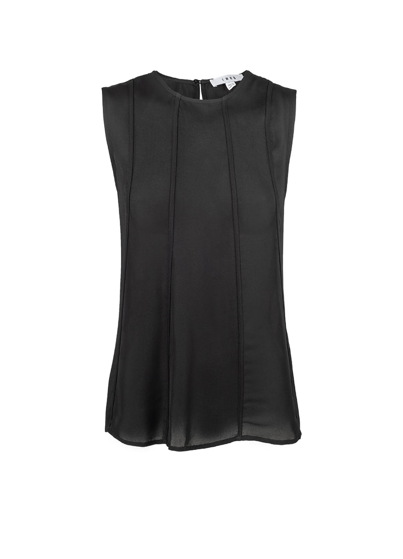 Accalia Splice Top - Black