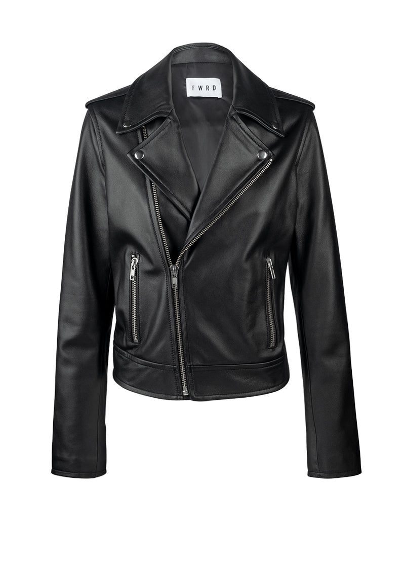 Stevie Leather Biker