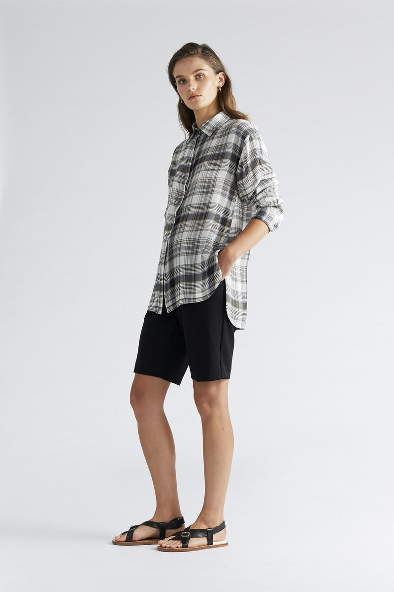 Eve Shirt - Spring Plaid