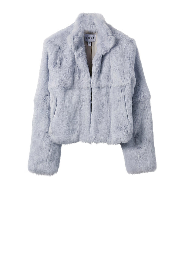 Arlie Fur Jacket - Mist