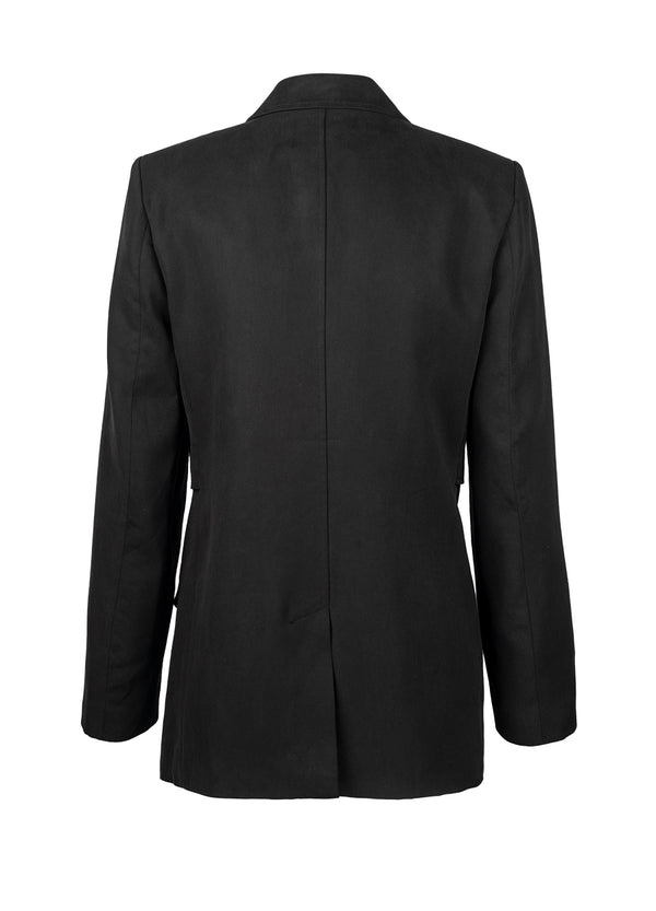 Opal Tiered Blazer - Black