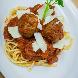 Mom's Pasta with Meatballs