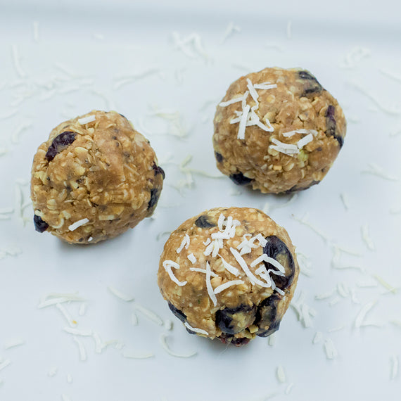 Very Berry Energy Protein Balls