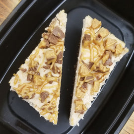 Reeces Peanut Butter Protein Cheesecake